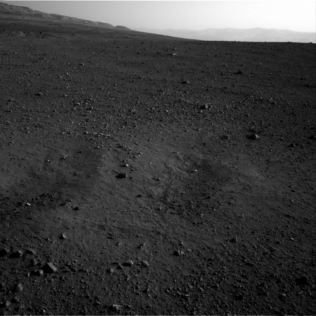 NASA's Mars rover Curiosity acquired this image using its Right Navigation Cameras (Navcams) on Sol 2