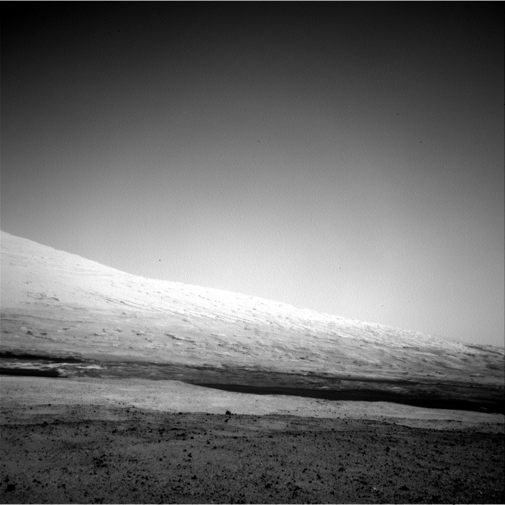 NASA's Mars rover Curiosity acquired this image using its Left Navigation Camera (Navcams) on Sol 12