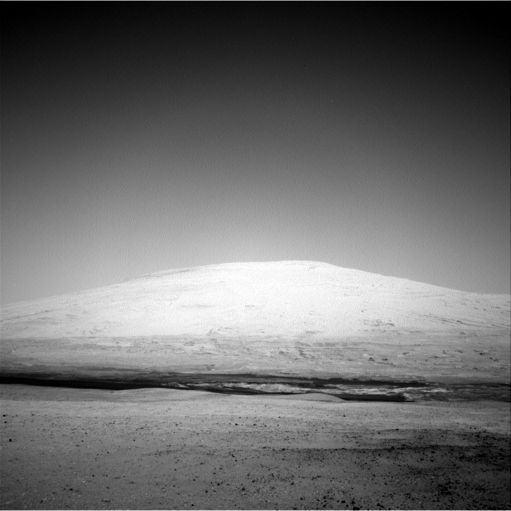 NASA's Mars rover Curiosity acquired this image using its Right Navigation Cameras (Navcams) on Sol 12