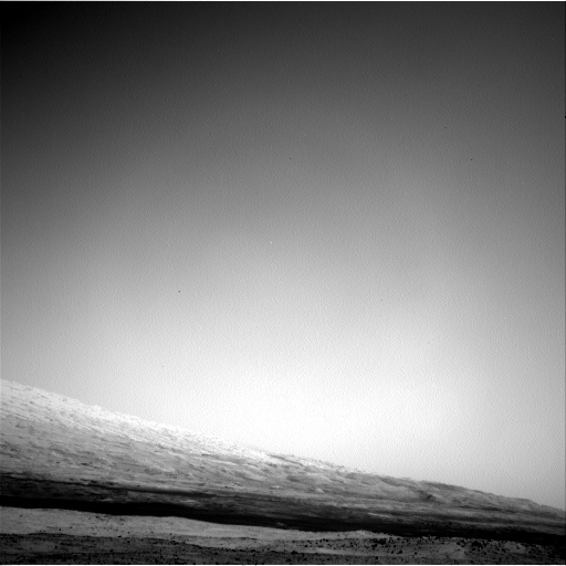 NASA's Mars rover Curiosity acquired this image using its Left Navigation Camera (Navcams) on Sol 13