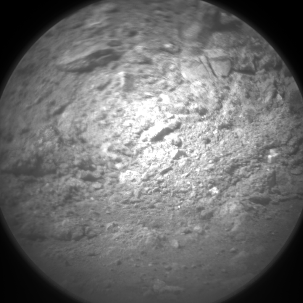 Nasa's Mars rover Curiosity acquired this image using its Chemistry & Camera (ChemCam) on Sol 14, at drive 4, site number 3