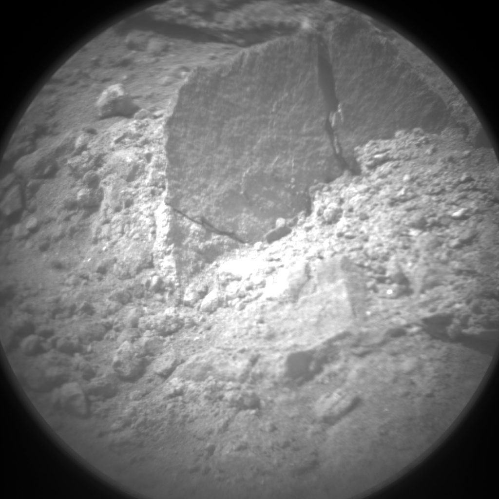 NASA's Mars rover Curiosity acquired this image using its Chemistry & Camera (ChemCam) on Sol 14
