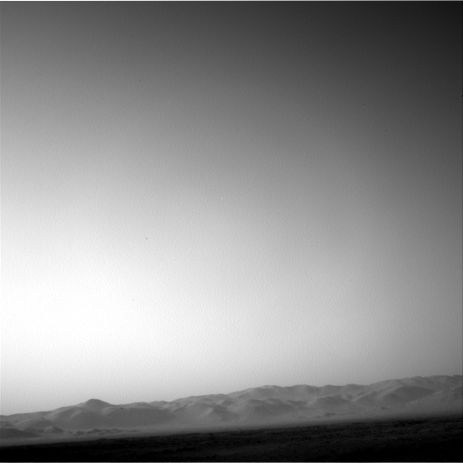 NASA's Mars rover Curiosity acquired this image using its Left Navigation Camera (Navcams) on Sol 14
