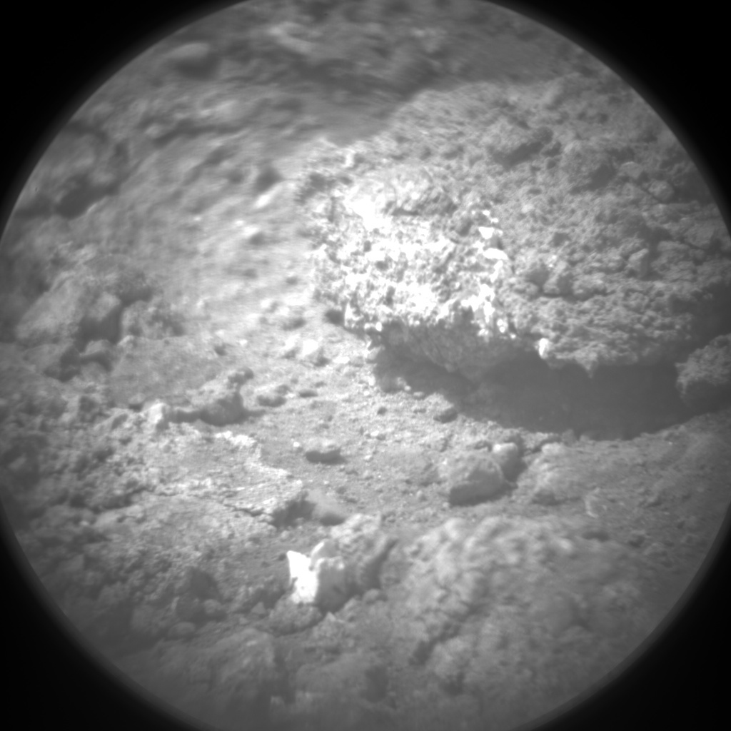 NASA's Mars rover Curiosity acquired this image using its Chemistry & Camera (ChemCam) on Sol 15