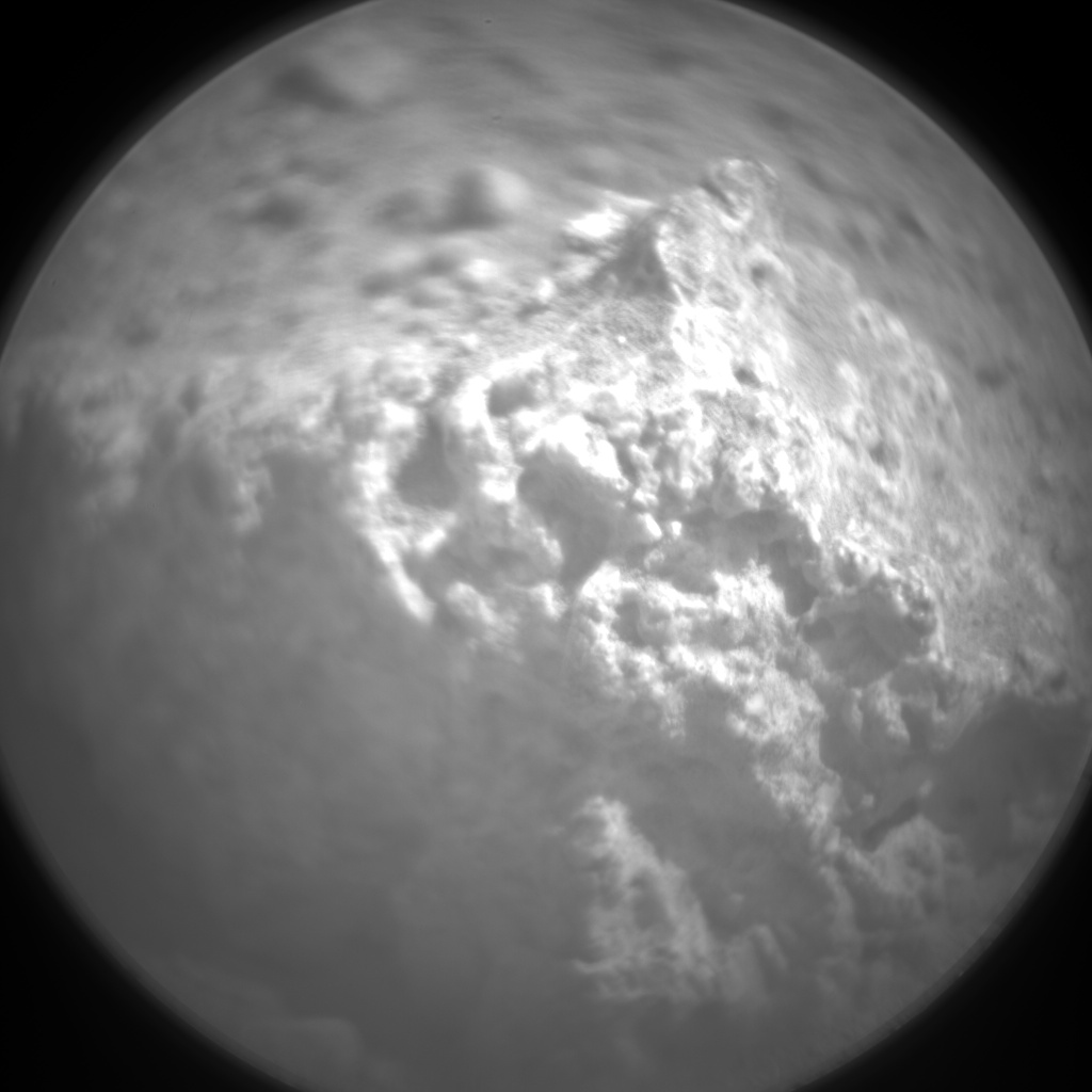 Nasa's Mars rover Curiosity acquired this image using its Chemistry & Camera (ChemCam) on Sol 15, at drive 4, site number 3
