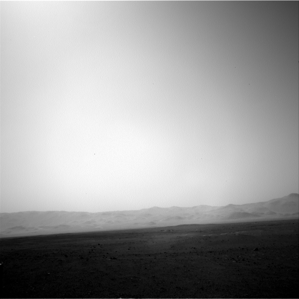NASA's Mars rover Curiosity acquired this image using its Left Navigation Camera (Navcams) on Sol 15