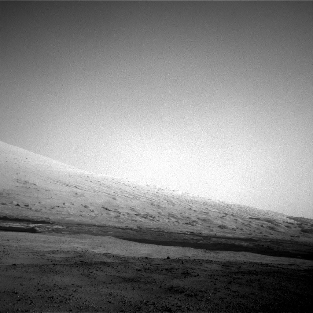 NASA's Mars rover Curiosity acquired this image using its Left Navigation Camera (Navcams) on Sol 17