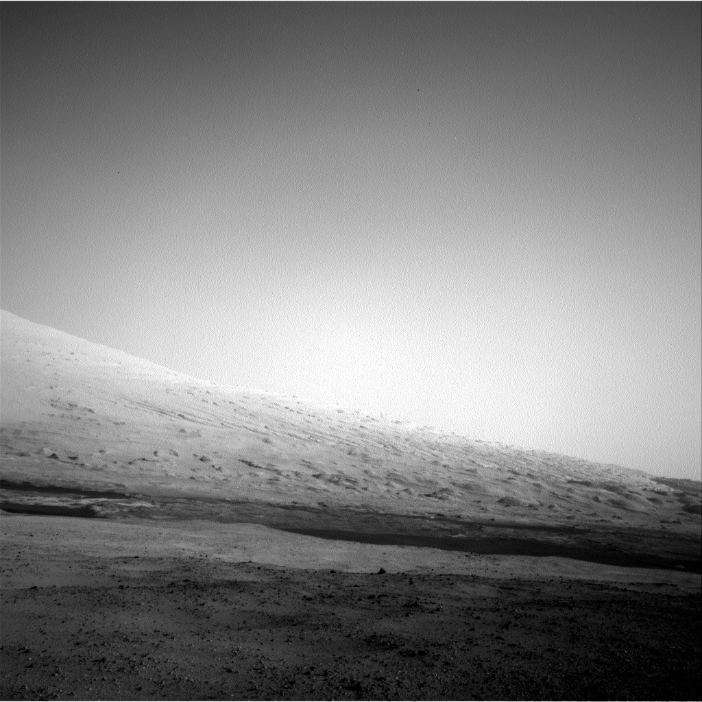NASA's Mars rover Curiosity acquired this image using its Right Navigation Cameras (Navcams) on Sol 17