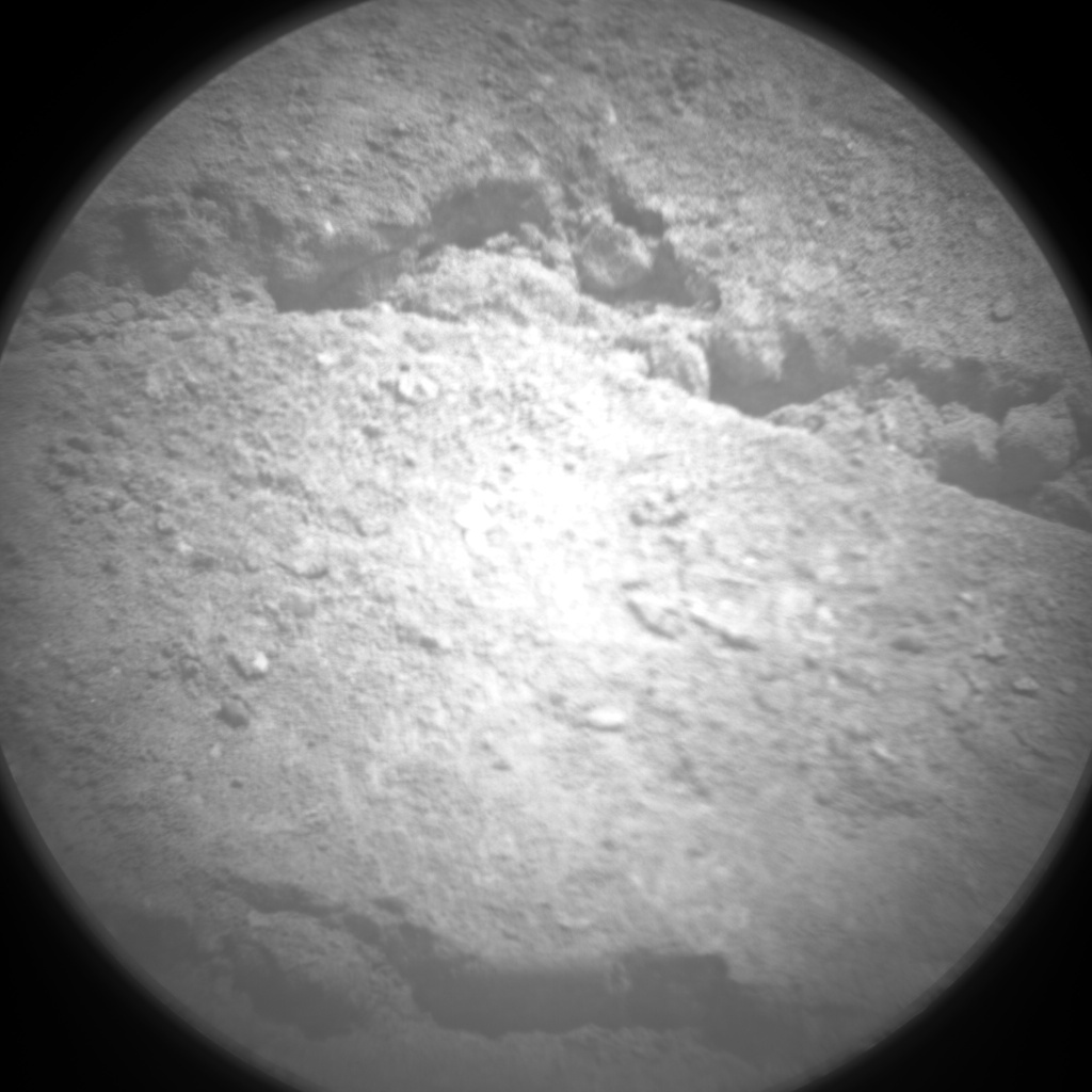 NASA's Mars rover Curiosity acquired this image using its Chemistry & Camera (ChemCam) on Sol 19