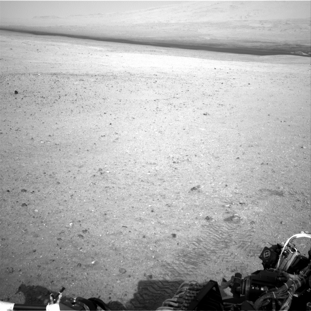 NASA's Mars rover Curiosity acquired this image using its Left Navigation Camera (Navcams) on Sol 21