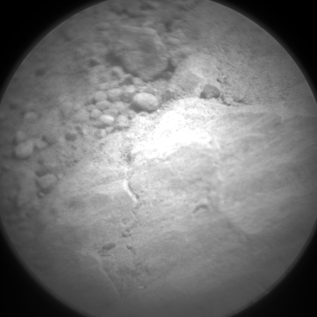 Nasa's Mars rover Curiosity acquired this image using its Chemistry & Camera (ChemCam) on Sol 22, at drive 100, site number 3