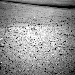 NASA's Mars rover Curiosity acquired this image using its Left Navigation Camera (Navcams) on Sol 24