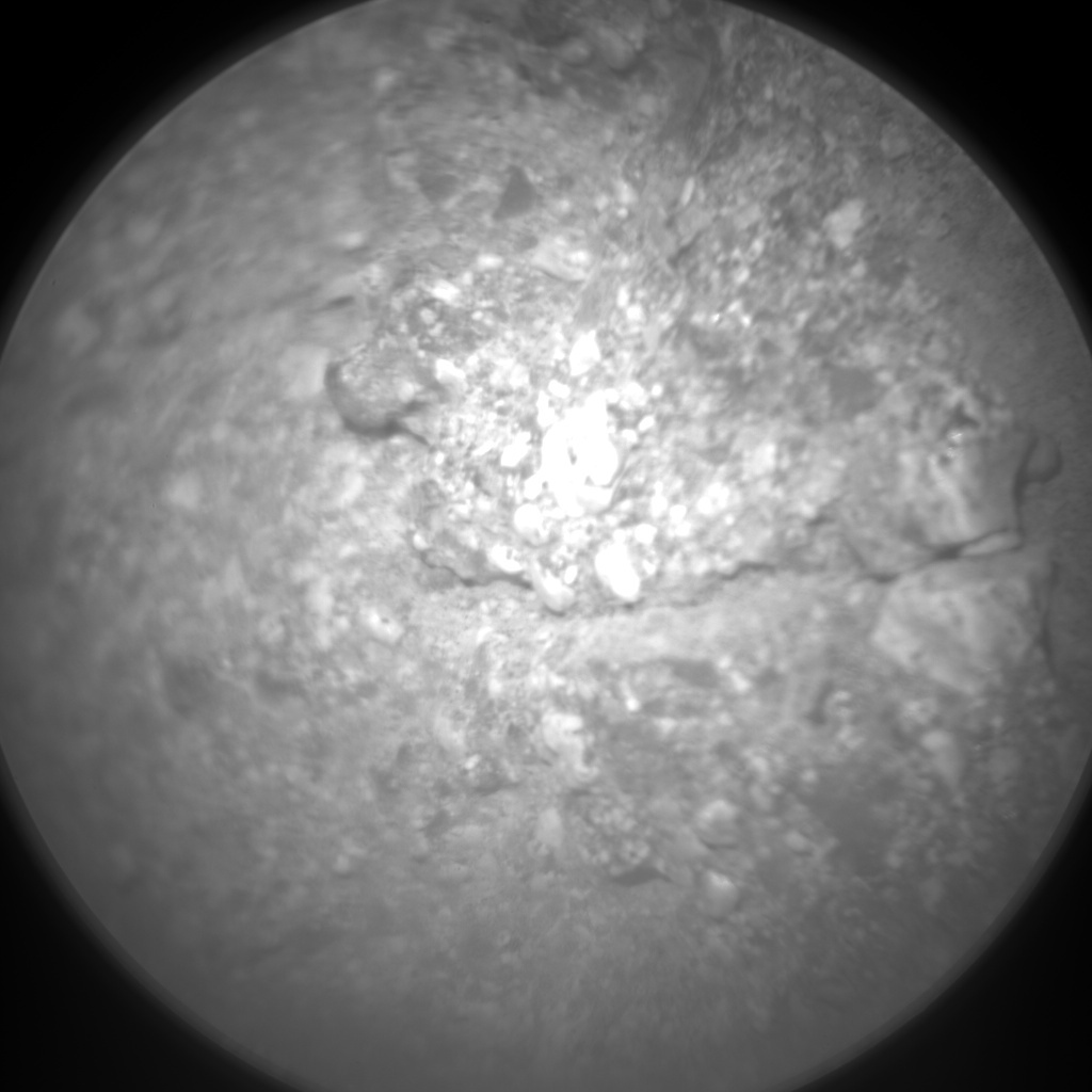 NASA's Mars rover Curiosity acquired this image using its Chemistry & Camera (ChemCam) on Sol 27