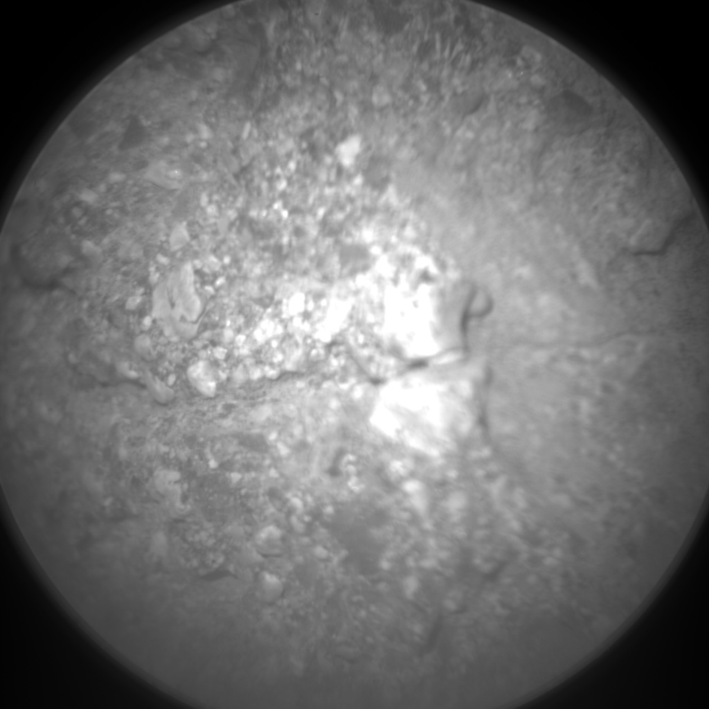 Nasa's Mars rover Curiosity acquired this image using its Chemistry & Camera (ChemCam) on Sol 27, at drive 530, site number 3