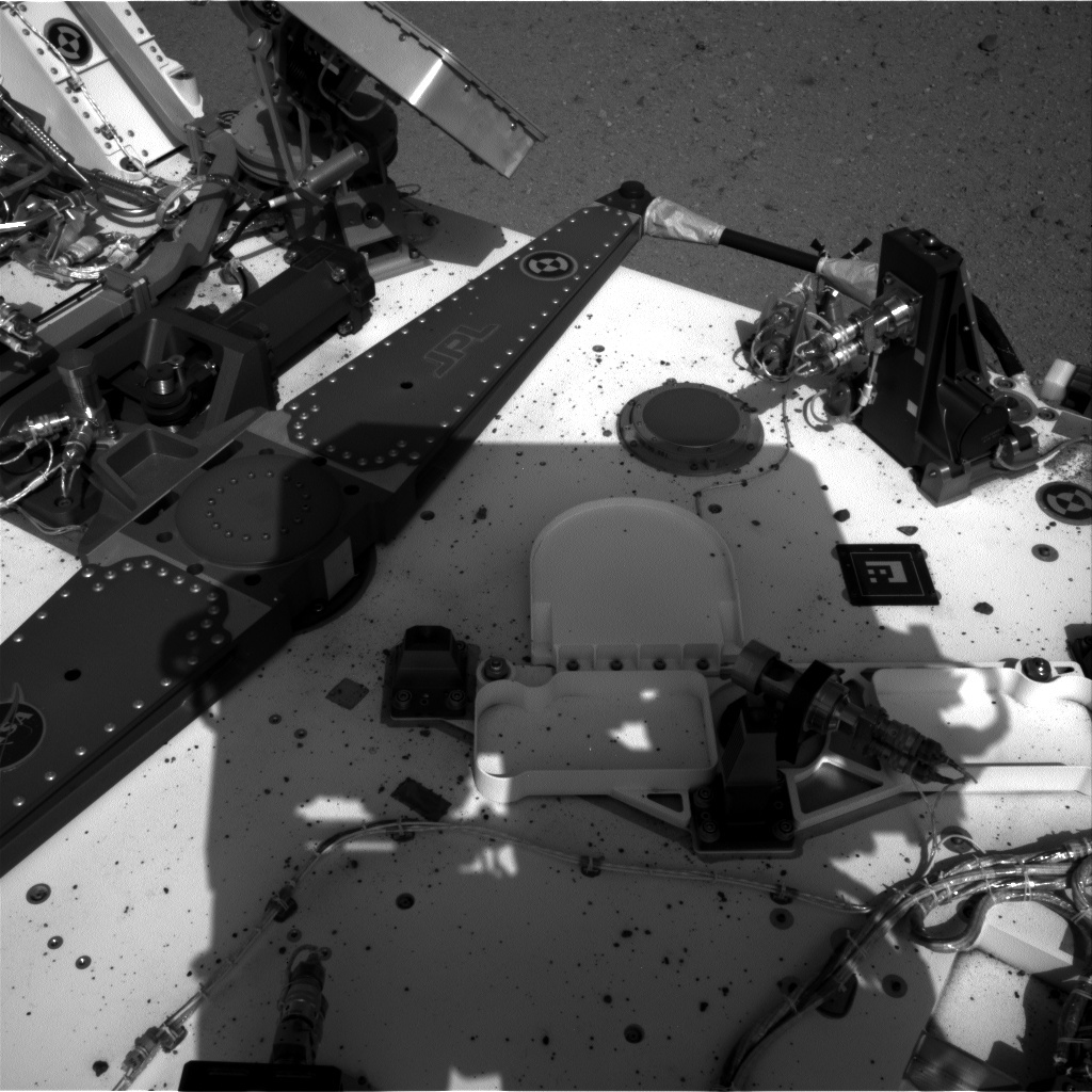 NASA's Mars rover Curiosity acquired this image using its Left Navigation Camera (Navcams) on Sol 29