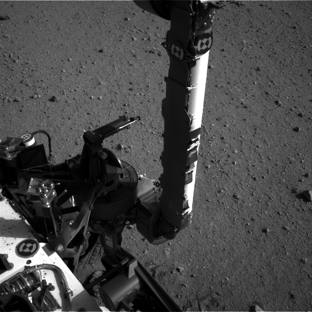 NASA's Mars rover Curiosity acquired this image using its Left Navigation Camera (Navcams) on Sol 30