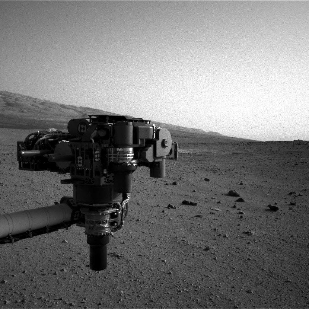NASA's Mars rover Curiosity acquired this image using its Right Navigation Cameras (Navcams) on Sol 30