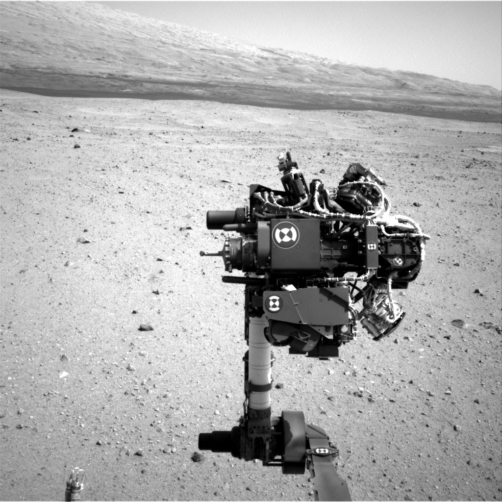 NASA's Mars rover Curiosity acquired this image using its Left Navigation Camera (Navcams) on Sol 32