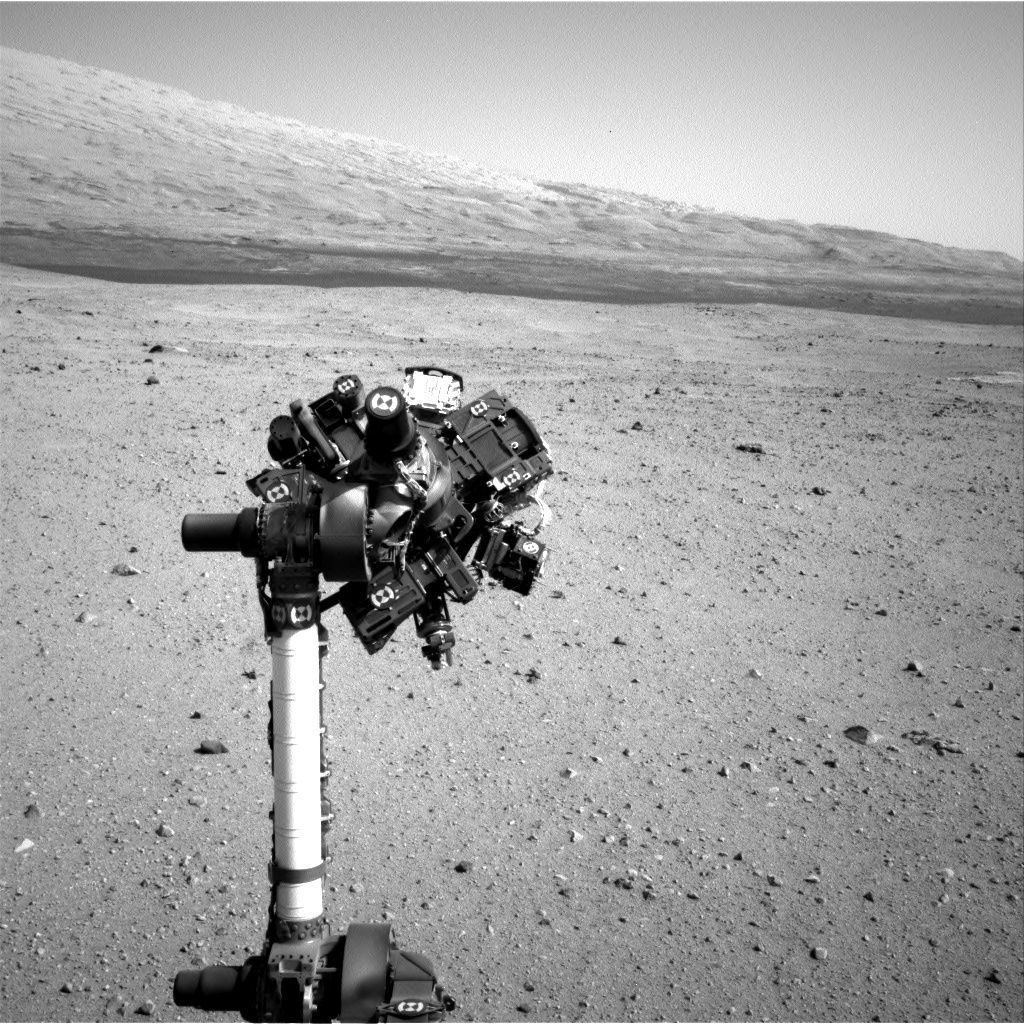 NASA's Mars rover Curiosity acquired this image using its Right Navigation Cameras (Navcams) on Sol 32