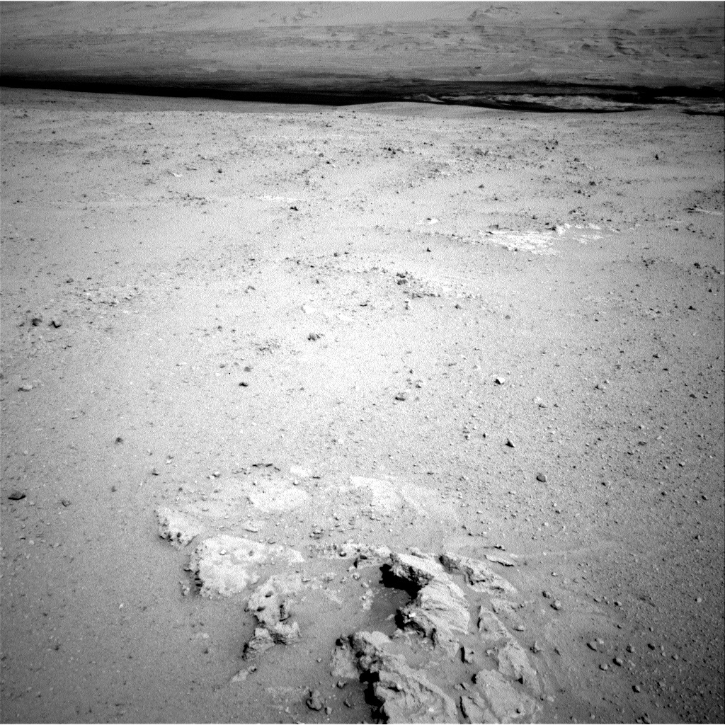 NASA's Mars rover Curiosity acquired this image using its Left Navigation Camera (Navcams) on Sol 38