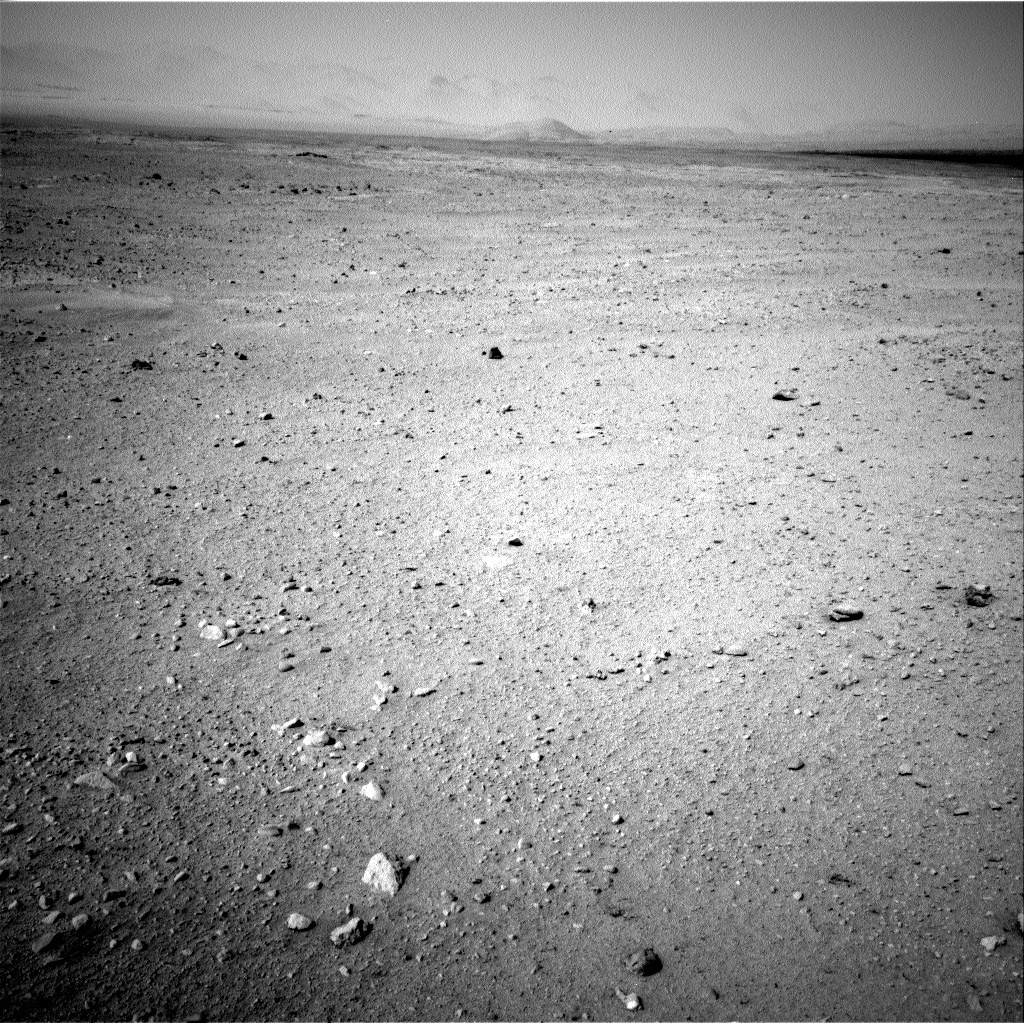 NASA's Mars rover Curiosity acquired this image using its Right Navigation Cameras (Navcams) on Sol 38