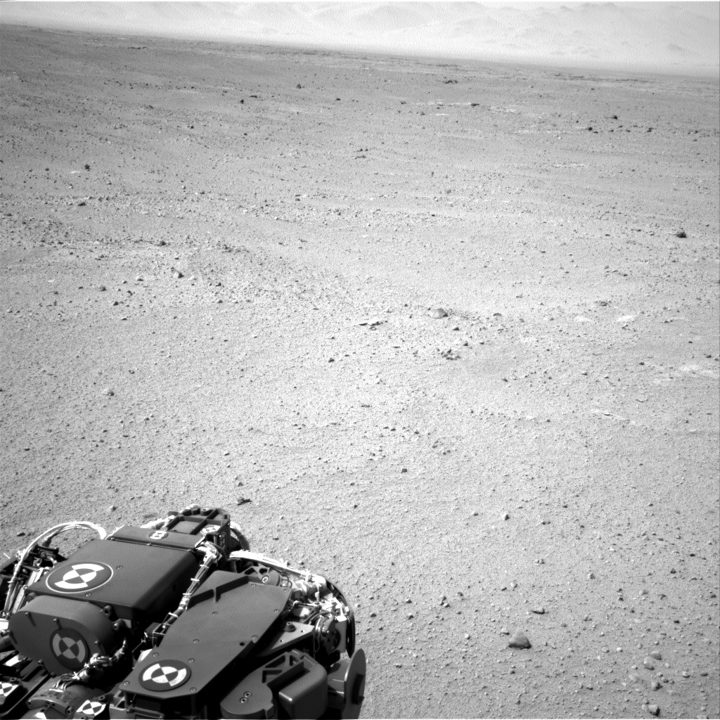NASA's Mars rover Curiosity acquired this image using its Right Navigation Cameras (Navcams) on Sol 39