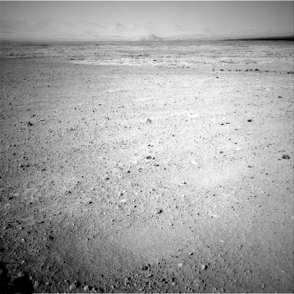 NASA's Mars rover Curiosity acquired this image using its Left Navigation Camera (Navcams) on Sol 40