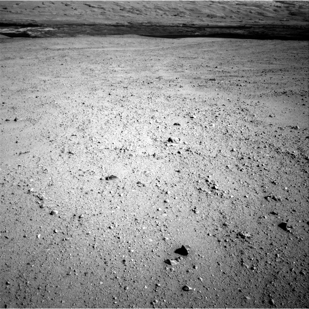 NASA's Mars rover Curiosity acquired this image using its Right Navigation Cameras (Navcams) on Sol 41
