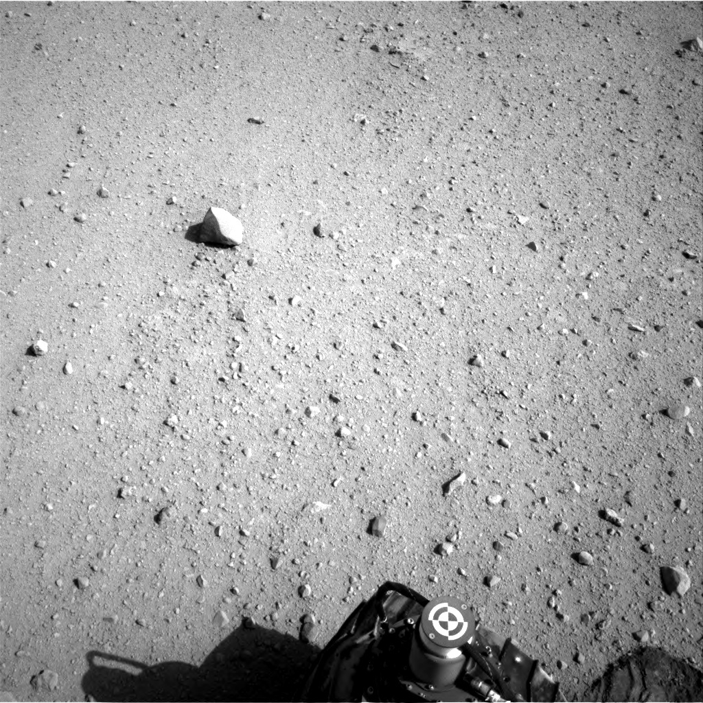 NASA's Mars rover Curiosity acquired this image using its Left Navigation Camera (Navcams) on Sol 42