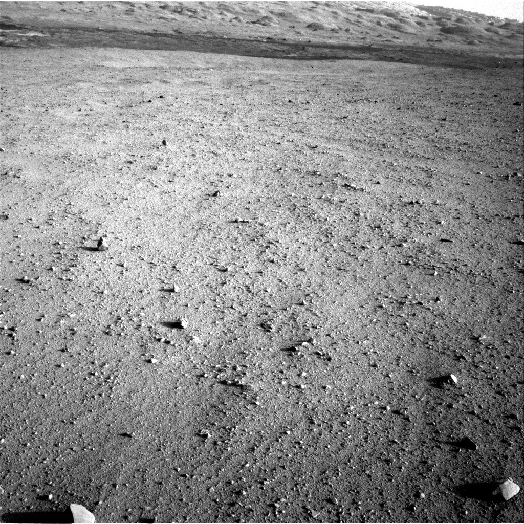 NASA's Mars rover Curiosity acquired this image using its Right Navigation Cameras (Navcams) on Sol 42