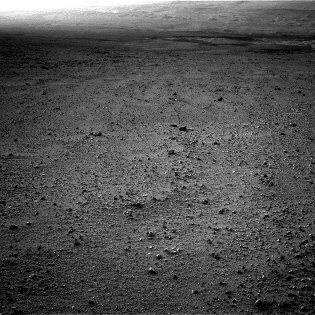 NASA's Mars rover Curiosity acquired this image using its Left Navigation Camera (Navcams) on Sol 44