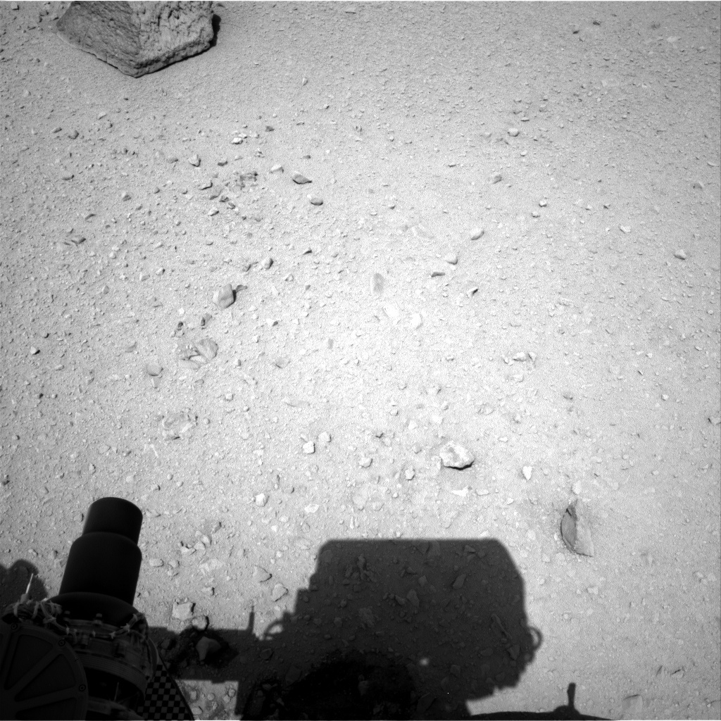 NASA's Mars rover Curiosity acquired this image using its Right Navigation Cameras (Navcams) on Sol 44