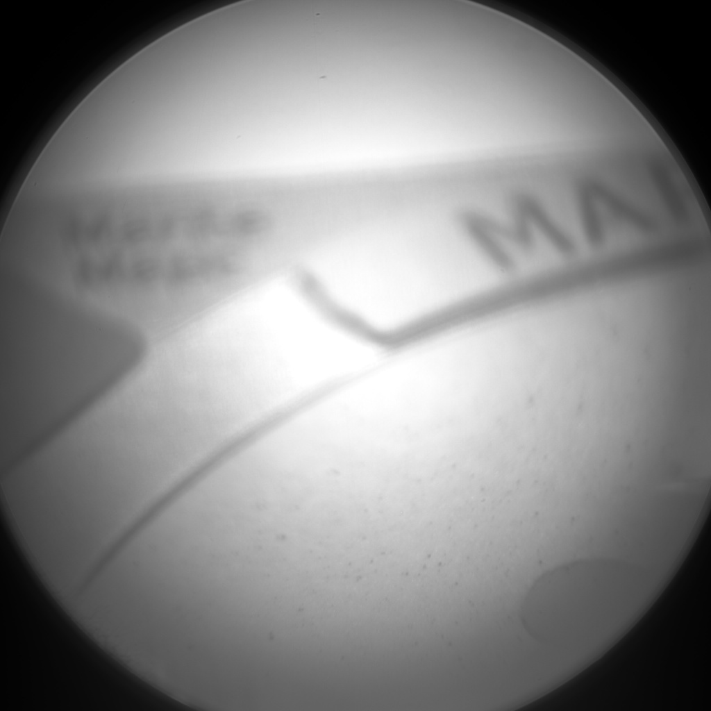 NASA's Mars rover Curiosity acquired this image using its Chemistry & Camera (ChemCam) on Sol 45