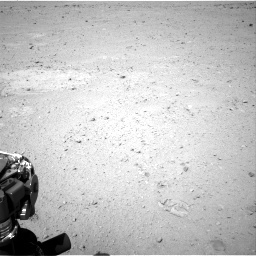 NASA's Mars rover Curiosity acquired this image using its Right Navigation Cameras (Navcams) on Sol 45