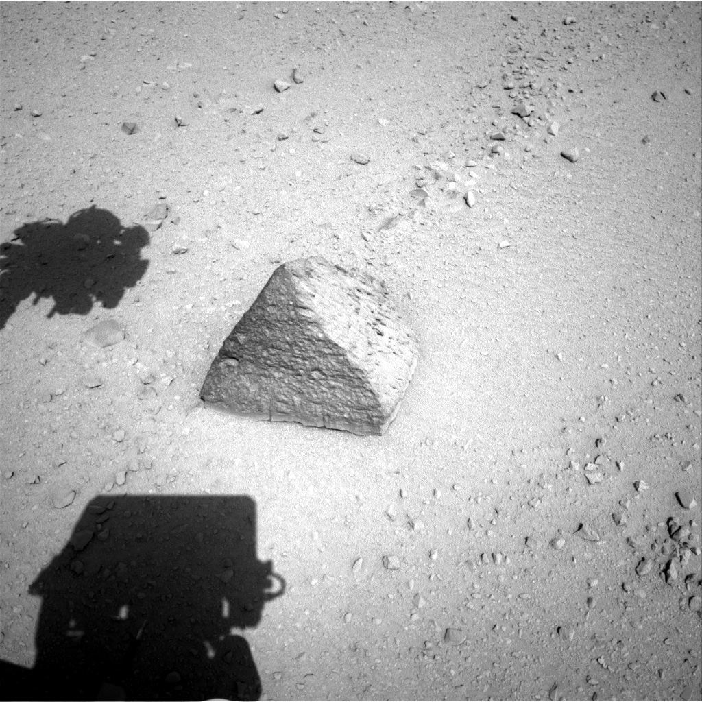NASA's Mars rover Curiosity acquired this image using its Right Navigation Cameras (Navcams) on Sol 46