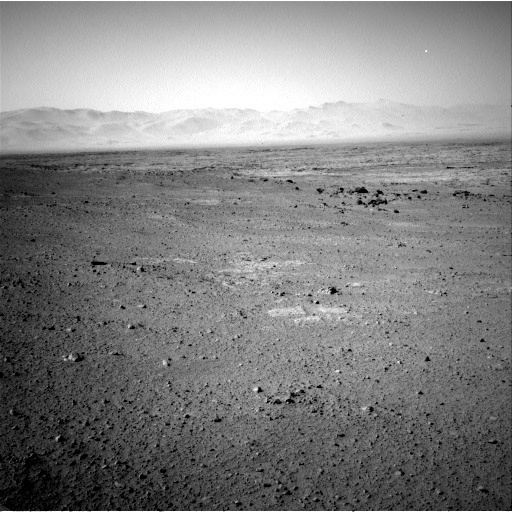 NASA's Mars rover Curiosity acquired this image using its Left Navigation Camera (Navcams) on Sol 47