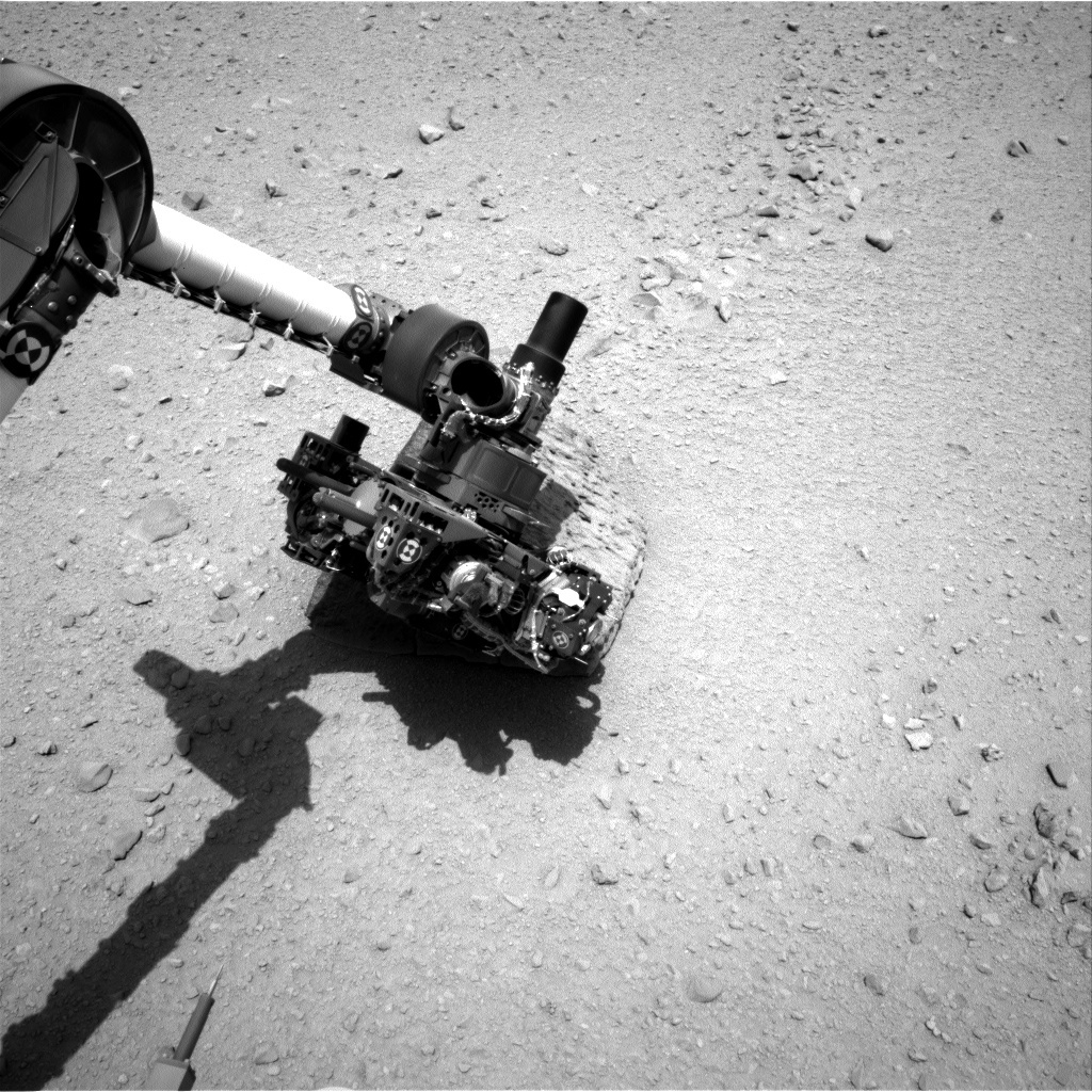 NASA's Mars rover Curiosity acquired this image using its Right Navigation Cameras (Navcams) on Sol 47