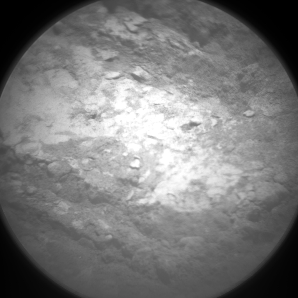 NASA's Mars rover Curiosity acquired this image using its Chemistry & Camera (ChemCam) on Sol 49