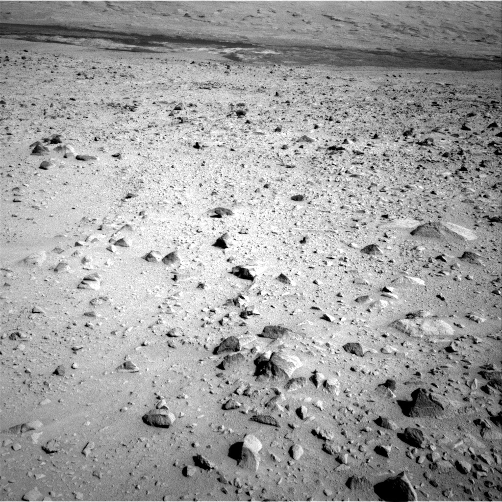 NASA's Mars rover Curiosity acquired this image using its Left Navigation Camera (Navcams) on Sol 49