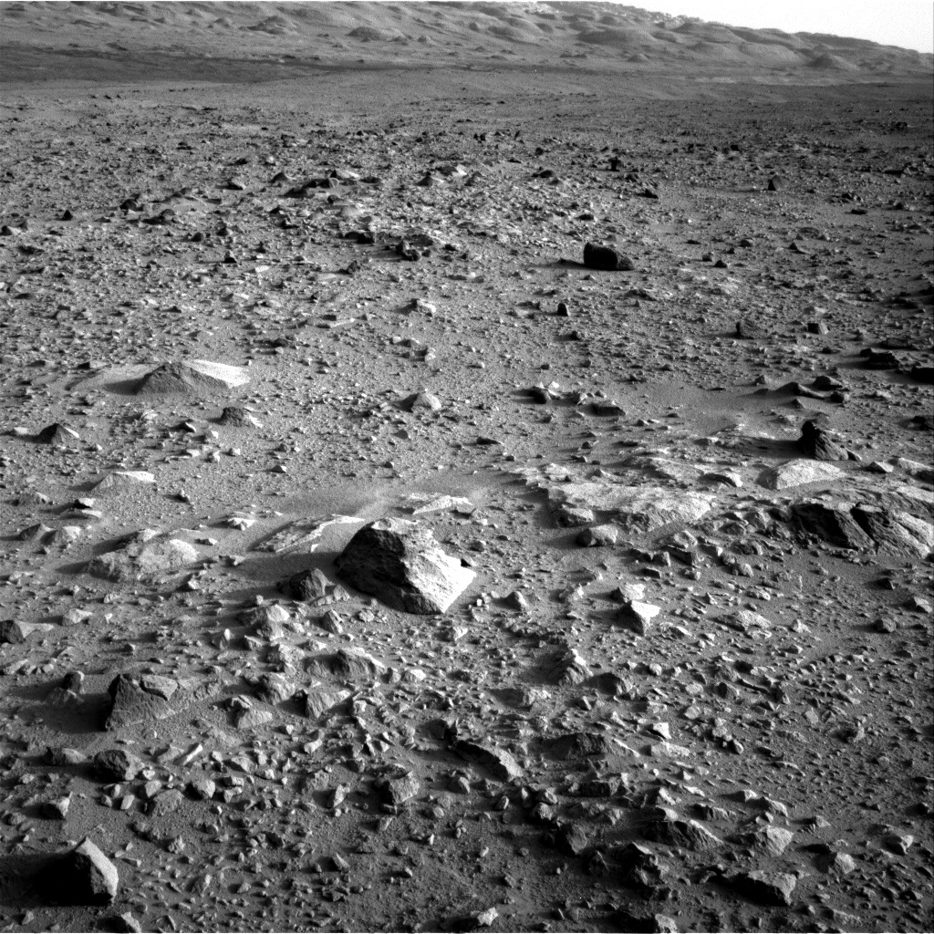 NASA's Mars rover Curiosity acquired this image using its Right Navigation Cameras (Navcams) on Sol 49