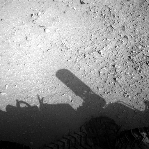NASA's Mars rover Curiosity acquired this image using its Right Navigation Cameras (Navcams) on Sol 50