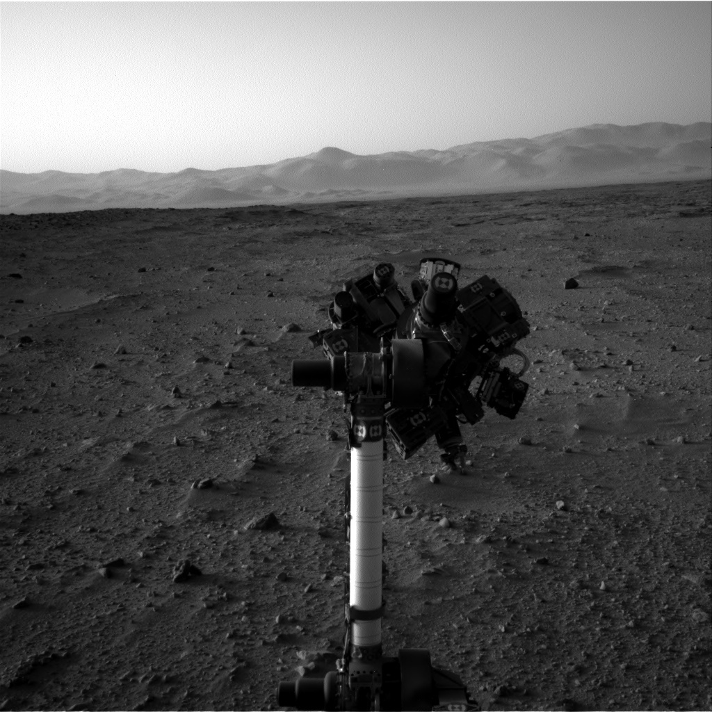NASA's Mars rover Curiosity acquired this image using its Left Navigation Camera (Navcams) on Sol 51