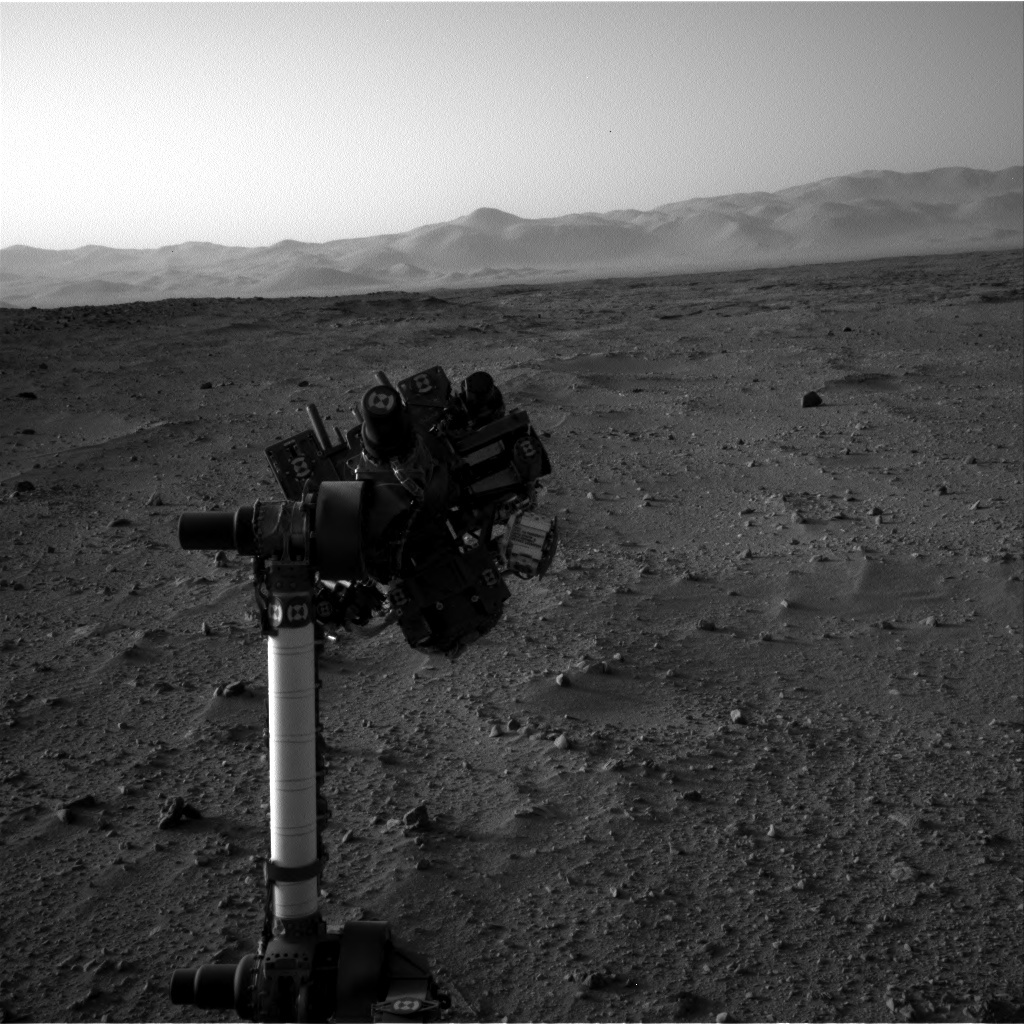NASA's Mars rover Curiosity acquired this image using its Right Navigation Cameras (Navcams) on Sol 51
