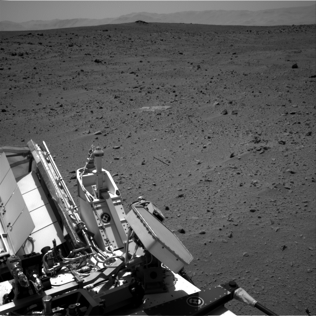 NASA's Mars rover Curiosity acquired this image using its Right Navigation Cameras (Navcams) on Sol 52