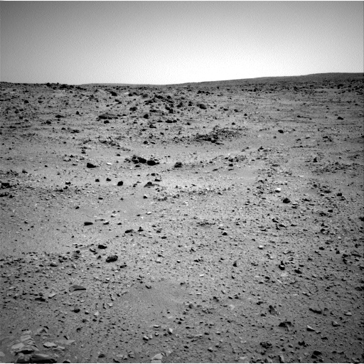 NASA's Mars rover Curiosity acquired this image using its Left Navigation Camera (Navcams) on Sol 53