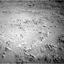 NASA's Mars rover Curiosity acquired this image using its Right Navigation Cameras (Navcams) on Sol 53