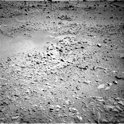 NASA's Mars rover Curiosity acquired this image using its Left Navigation Camera (Navcams) on Sol 55