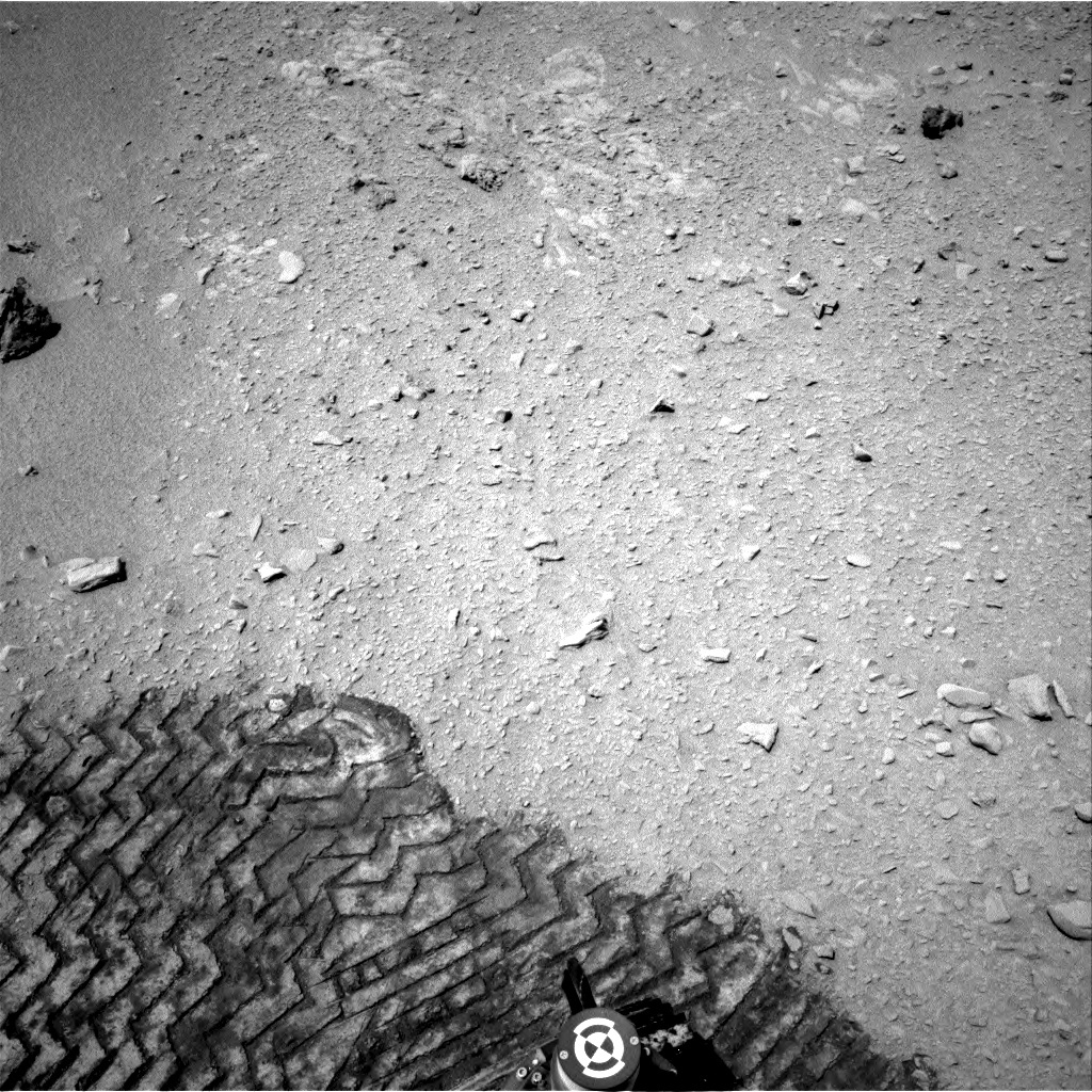 NASA's Mars rover Curiosity acquired this image using its Right Navigation Cameras (Navcams) on Sol 56