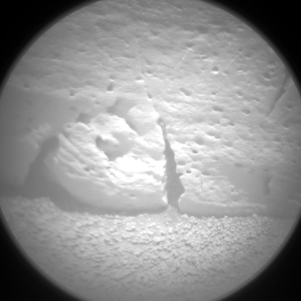 Nasa's Mars rover Curiosity acquired this image using its Chemistry & Camera (ChemCam) on Sol 57, at drive 3474, site number 4