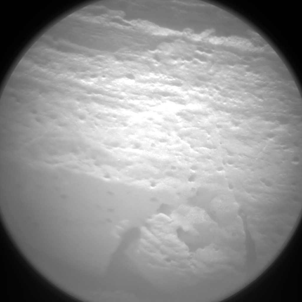 NASA's Mars rover Curiosity acquired this image using its Chemistry & Camera (ChemCam) on Sol 57